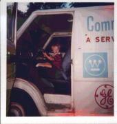Mike in Dad's van